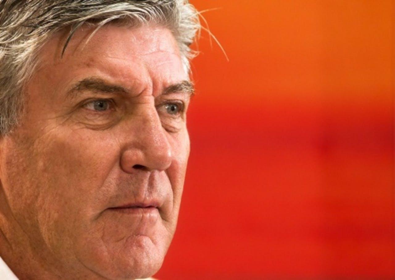 Archiefbeeld van trainer Cor Pot van Jong Oranje. ANP