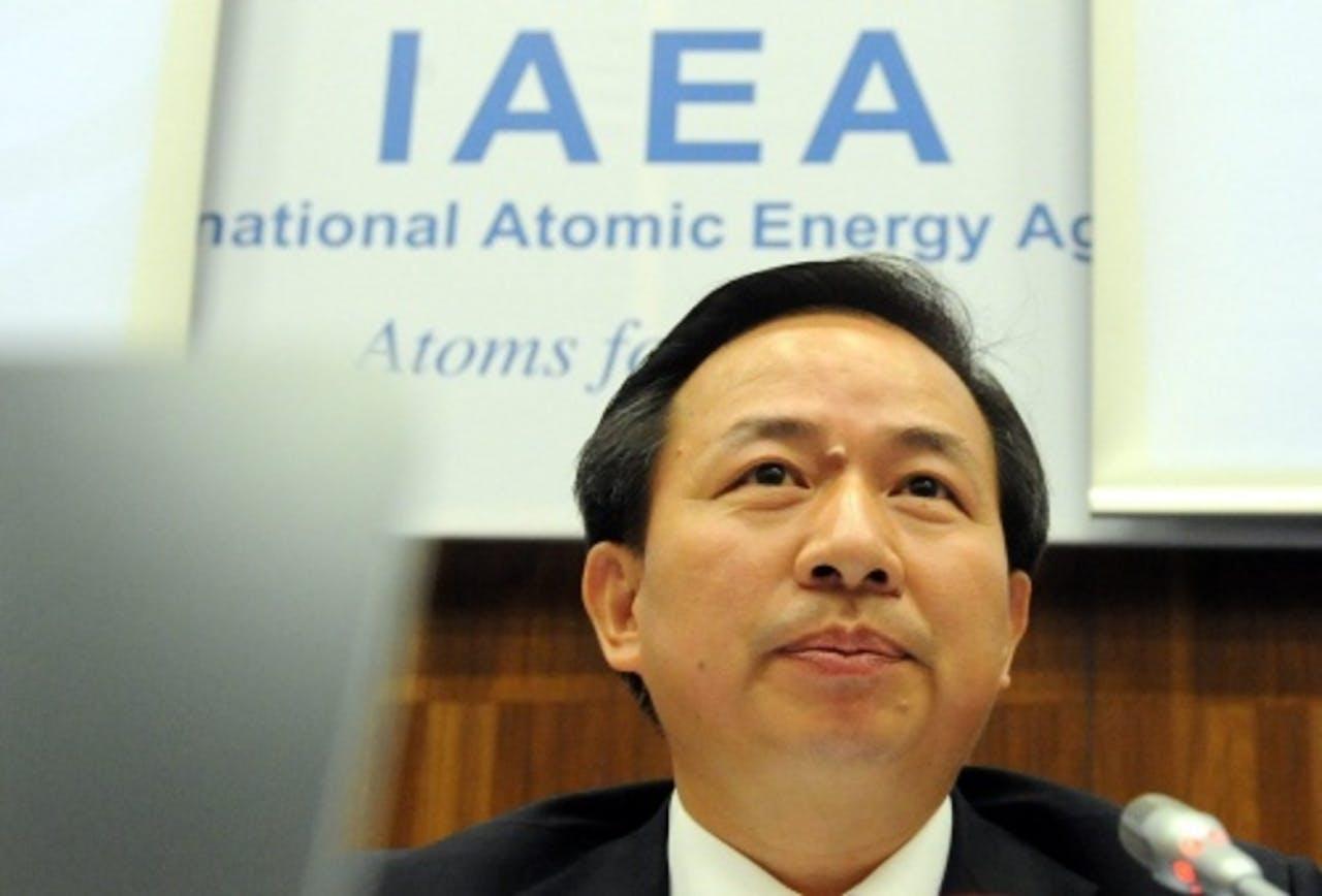 Li Ganjie. EPA