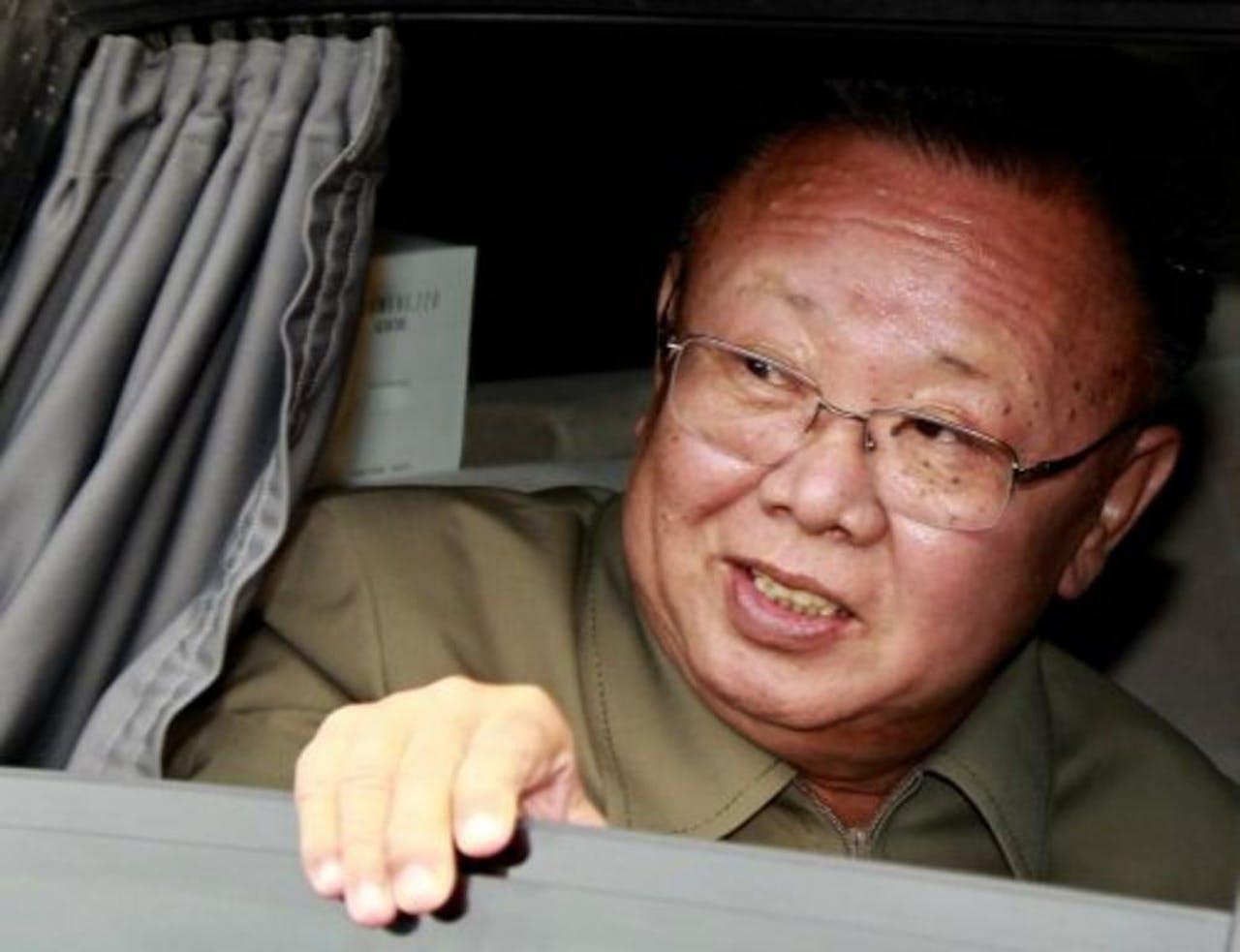 Kim Jong-il in augustus 2011. EPA