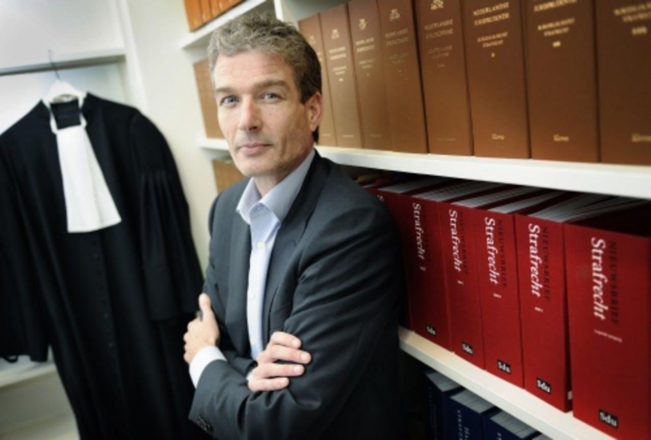 Advocaat Stijn Franken. ANP