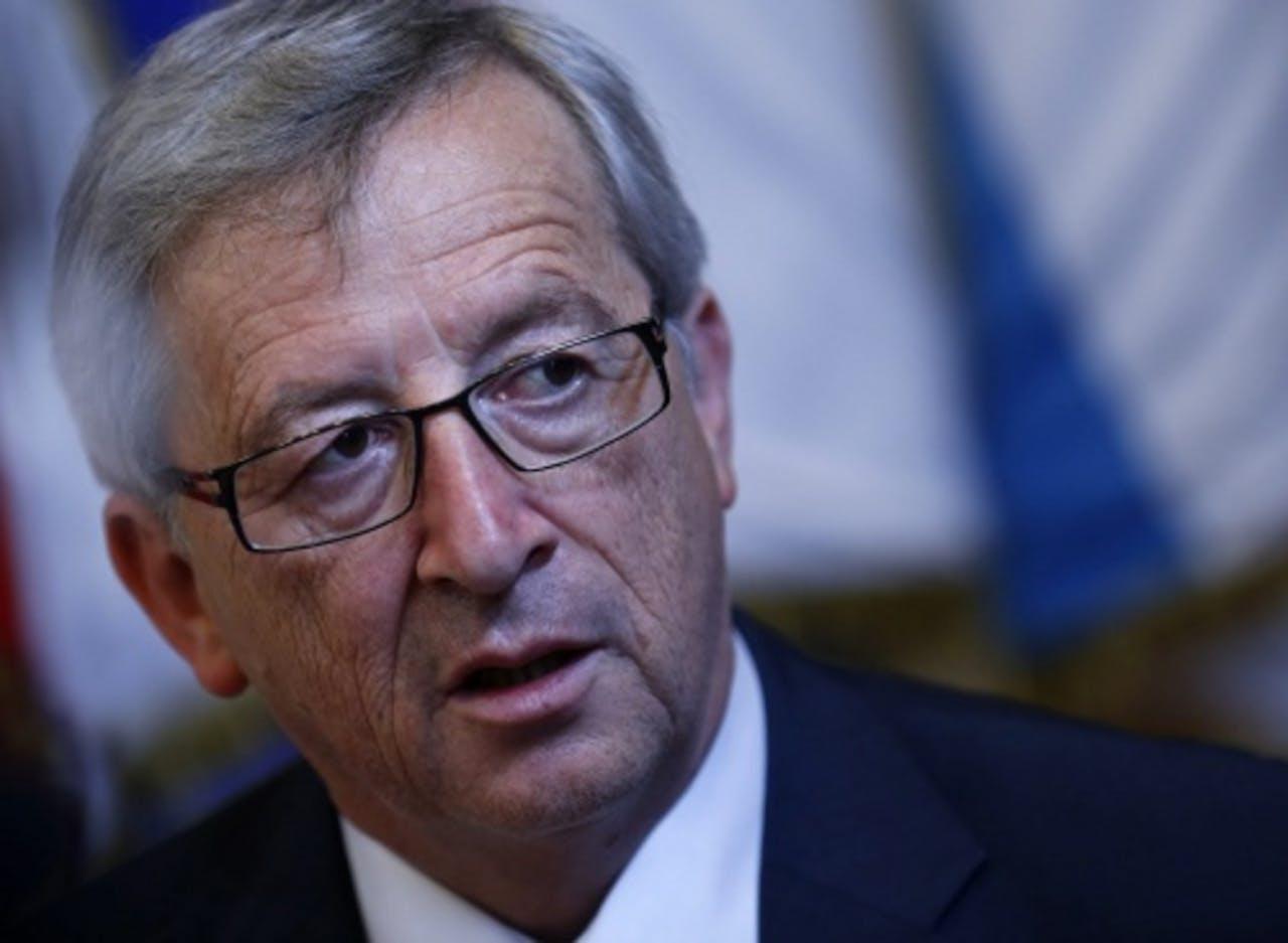 Jean-Claude Juncker, de voorzitter van de eurogroep. EPA