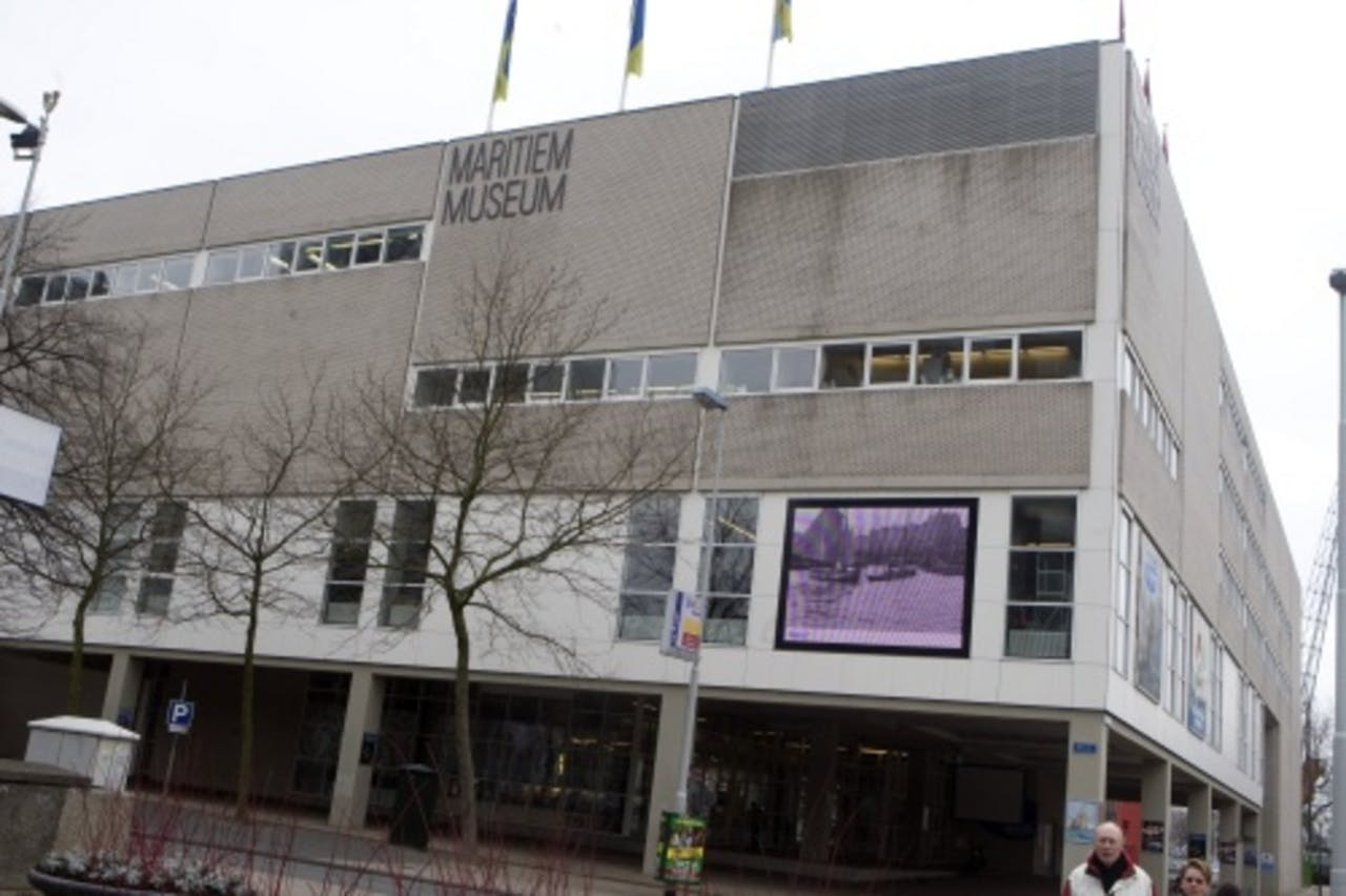 Maritiem Museum Rotterdam. ANP