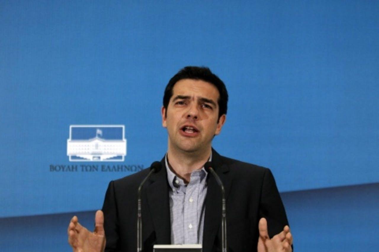Syriza-leider Alexis Tsipras (EPA)