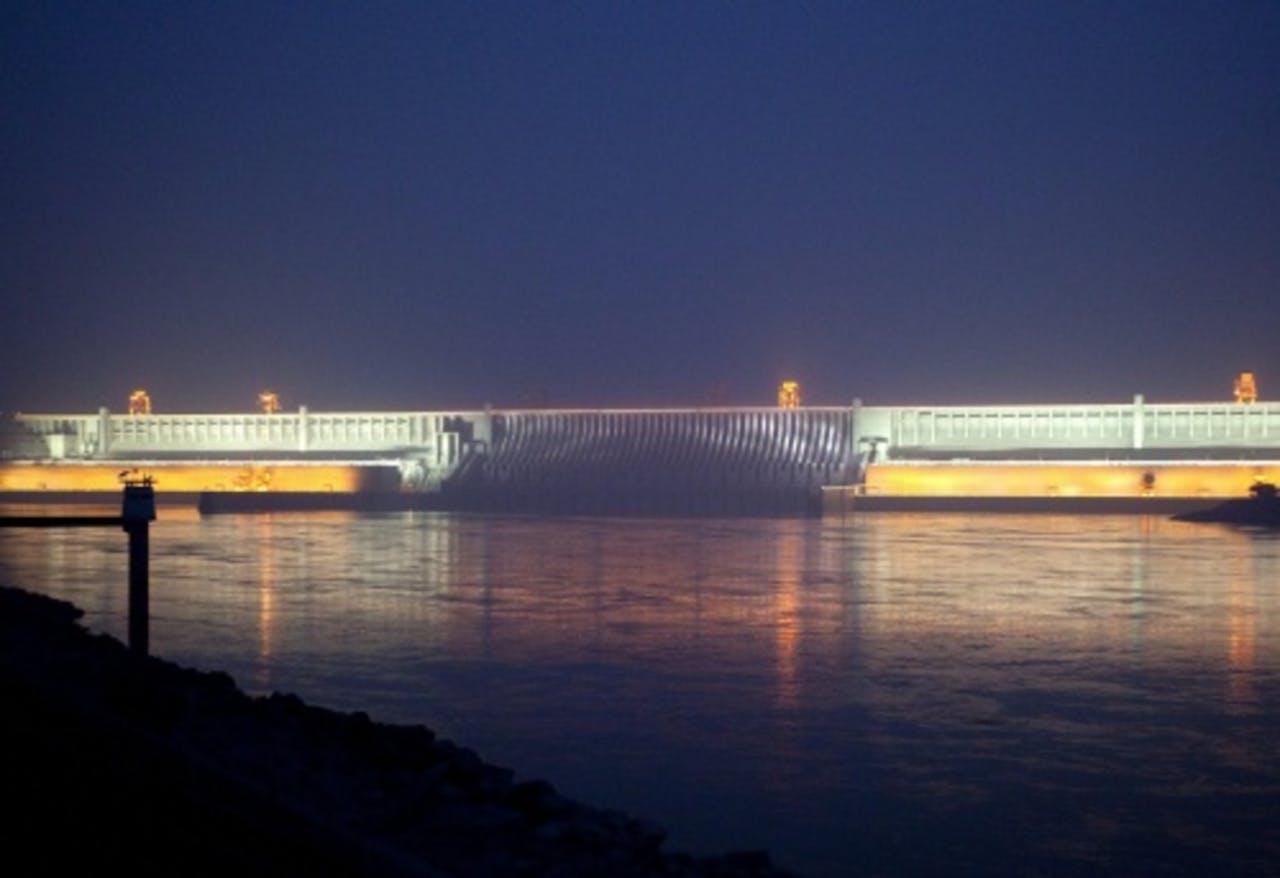 De Drie Kloven-stuwdam. EPA