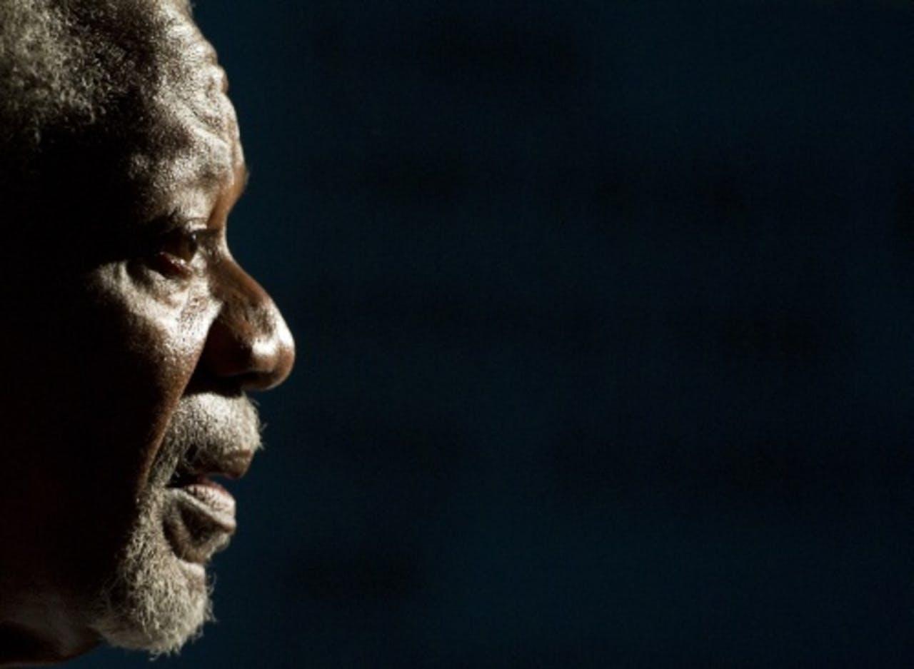 Kofi Annan. ANP.