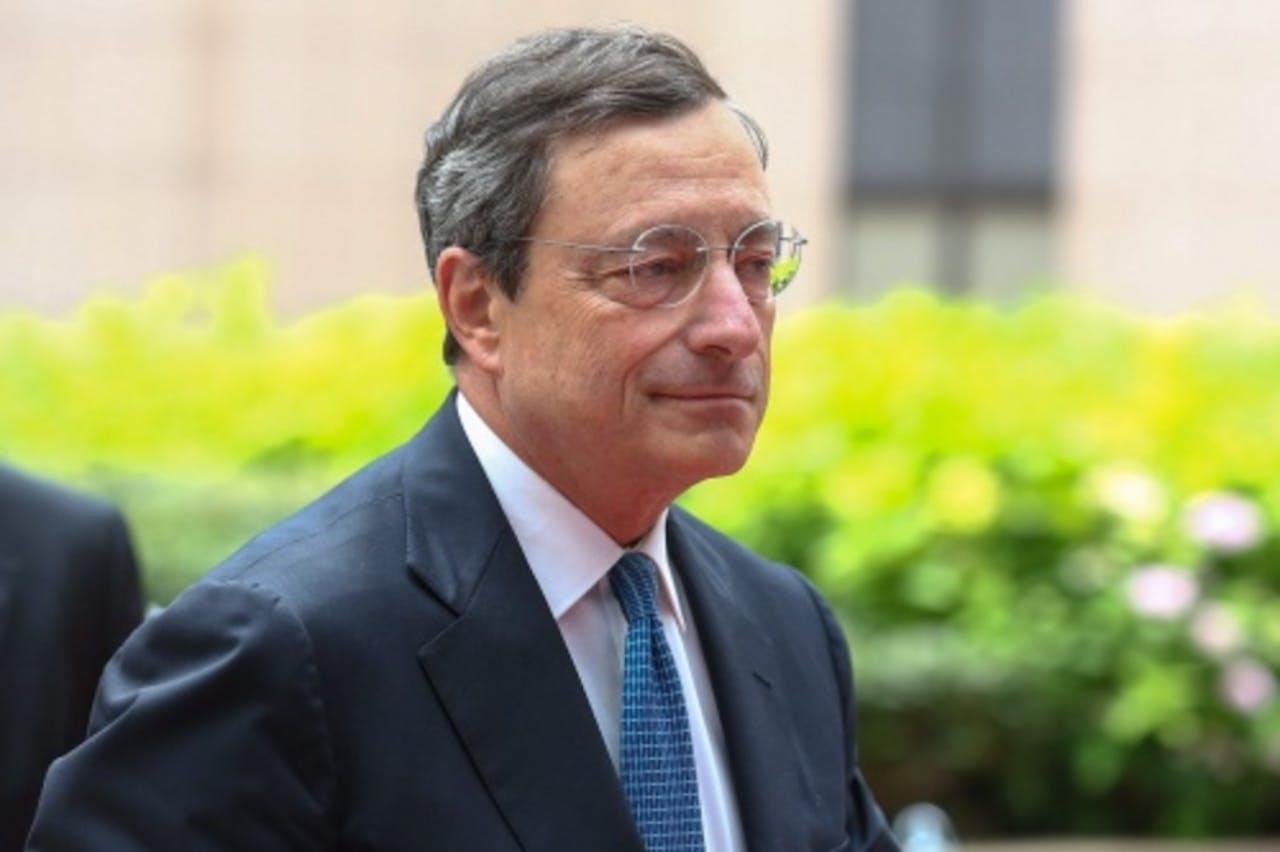 Draghi. EPA