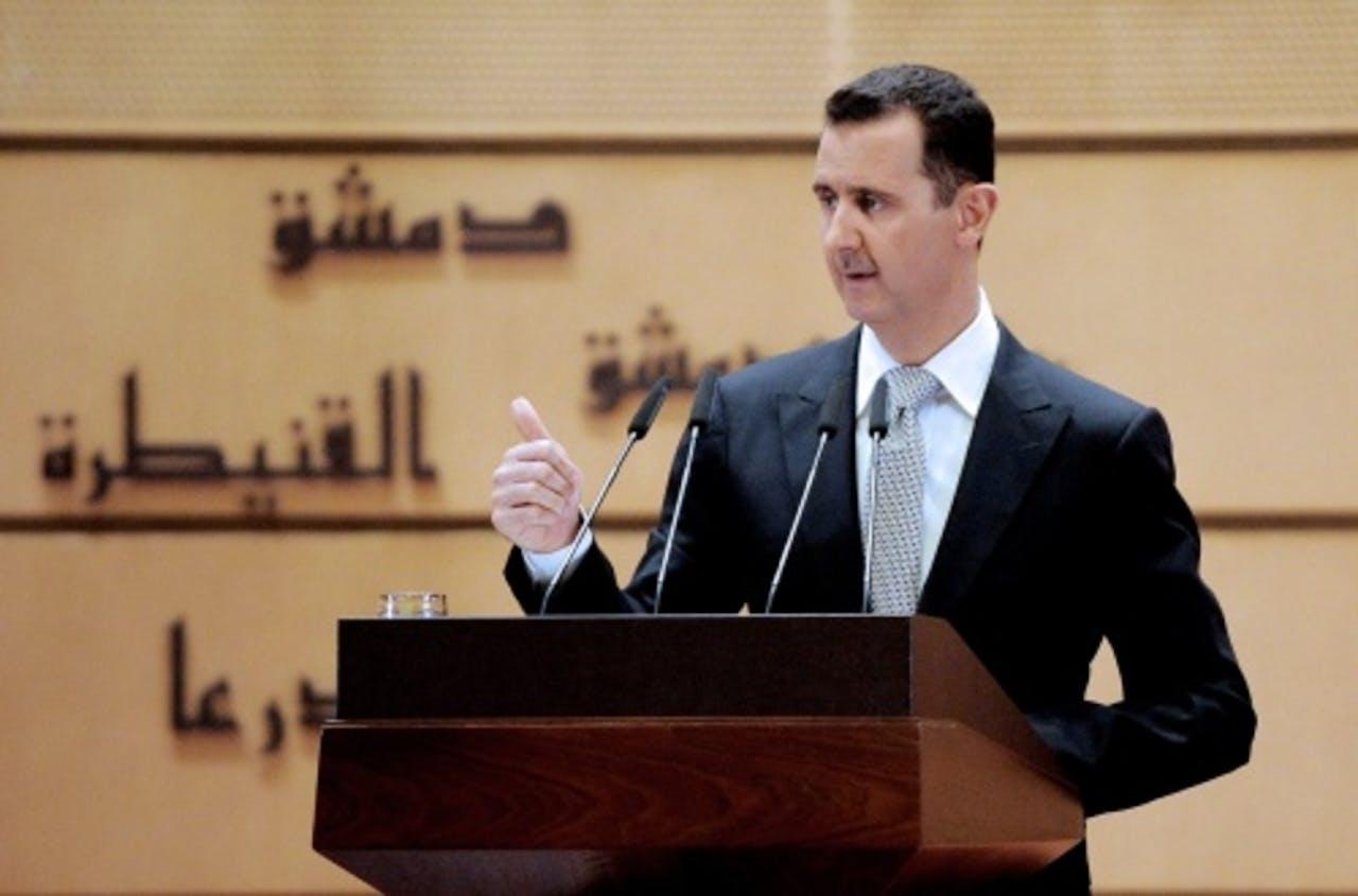 President Assad van Syrië. EPA