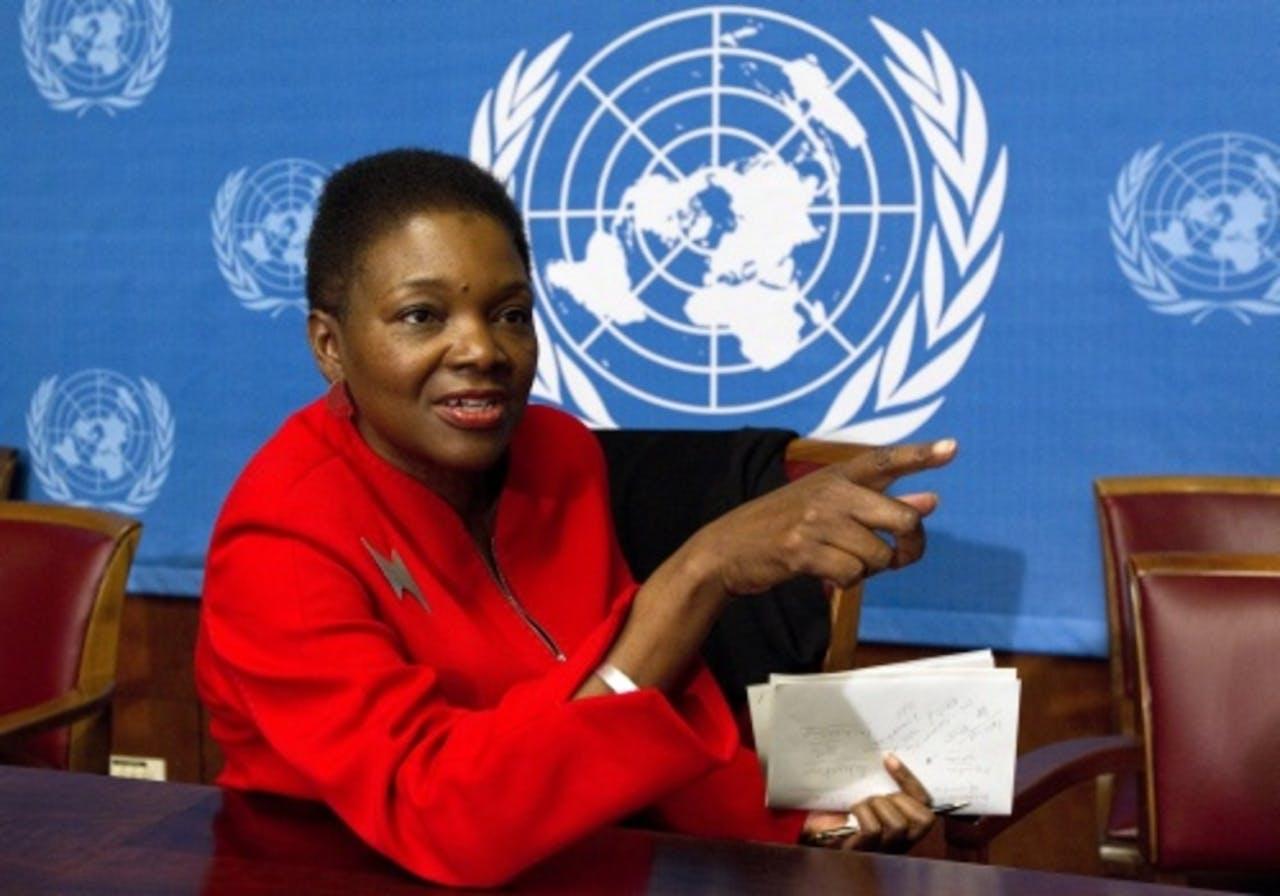 Valerie Amos. EPA