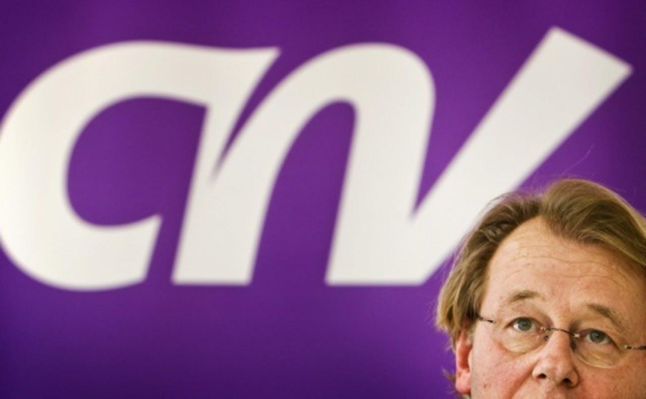 CNV-voorzitter Jaap Smit. ANP