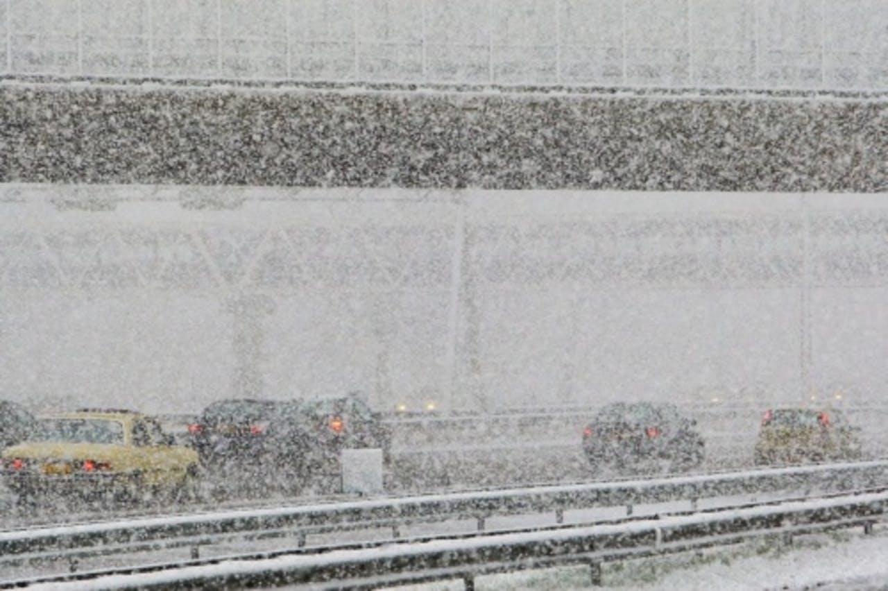 Archieffoto sneeuwval. ANP