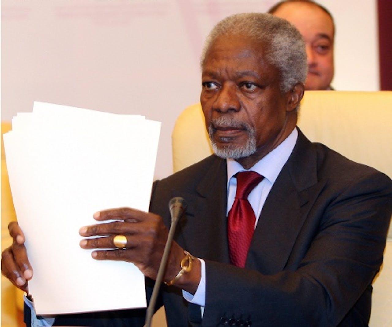 Kofi Annan (EPA)