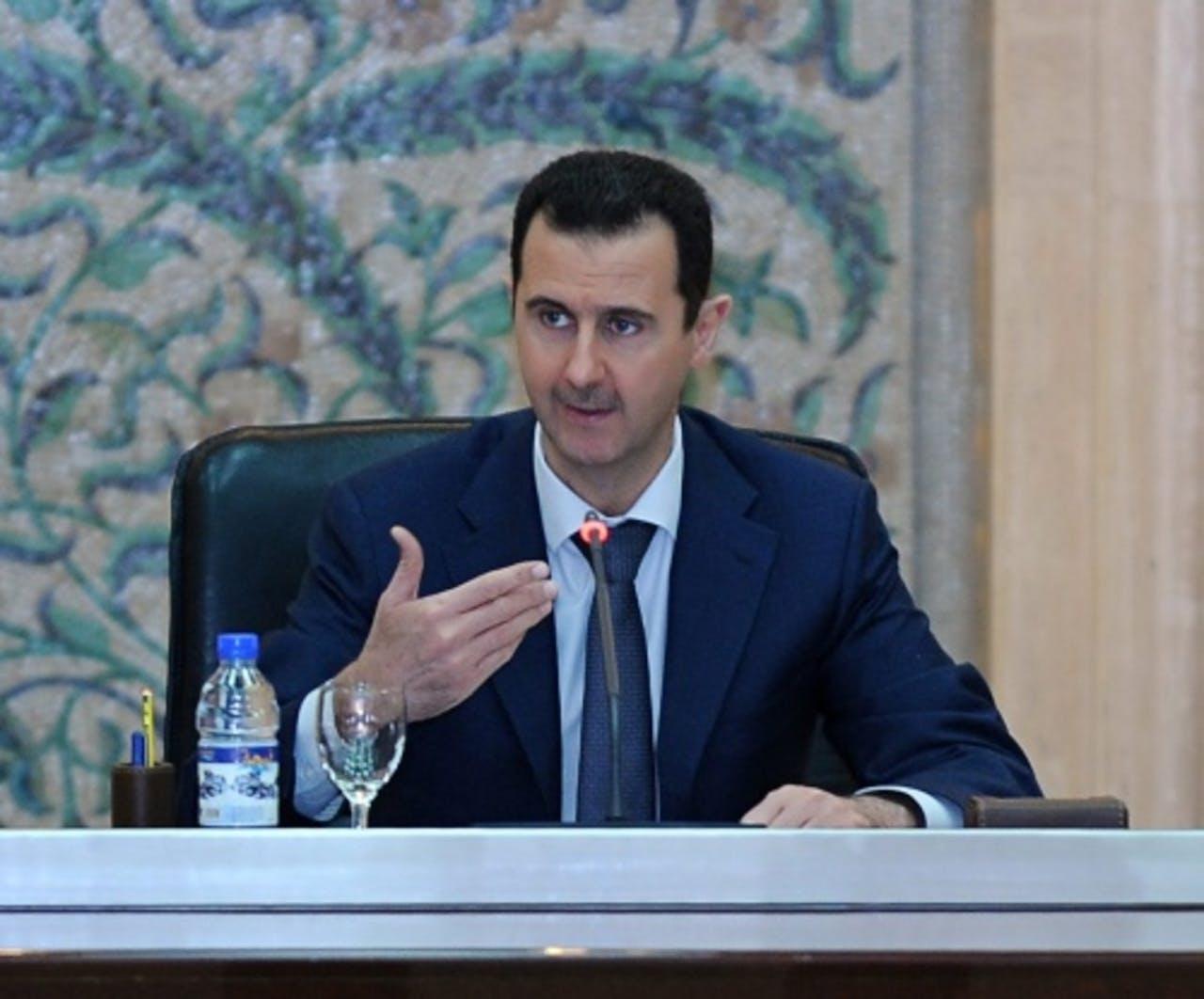 President Assad. EPA
