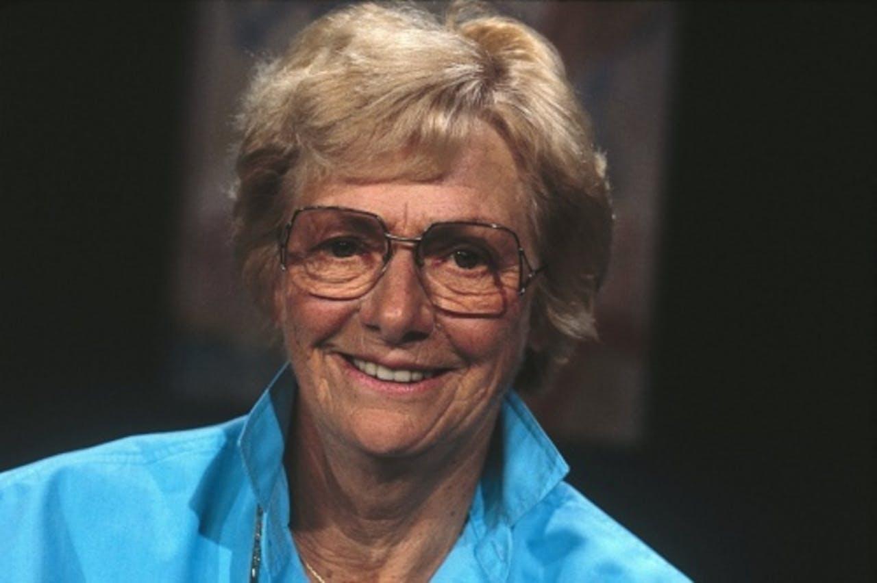 Fanny Blankers-Koen (archieffoto, 1986). ANP Kippa
