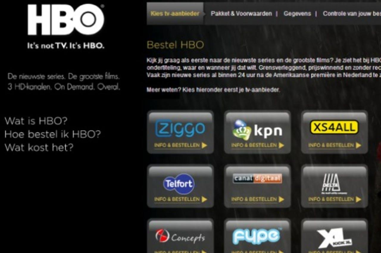 HBO werft Nederlandse abonnees via eigen bestelsite