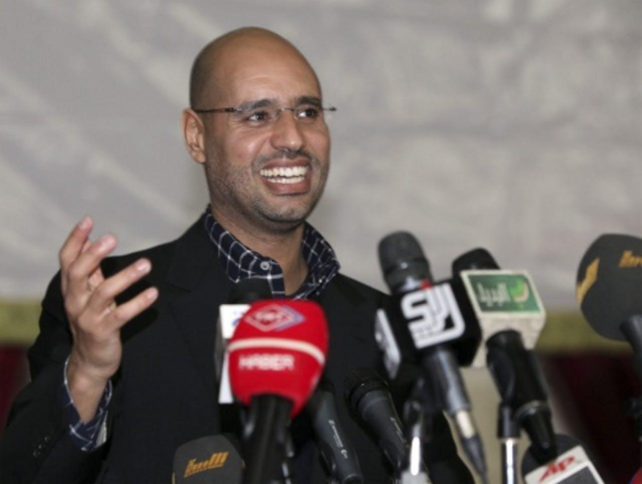 Saif al-Islam (archief). EPA