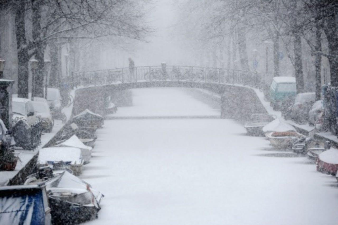 Archieffoto van de Bloemengracht in Amsterdam van 26 januari. ANP