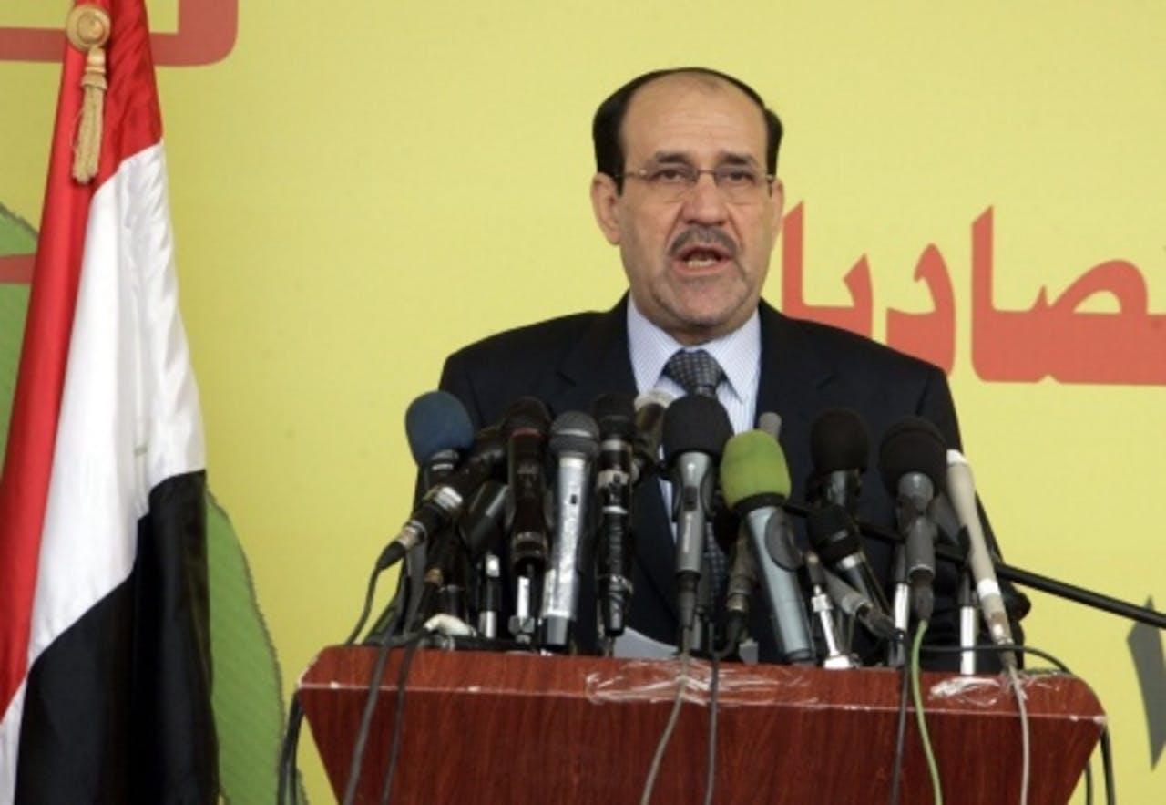 Nuri al-Maliki. EPA