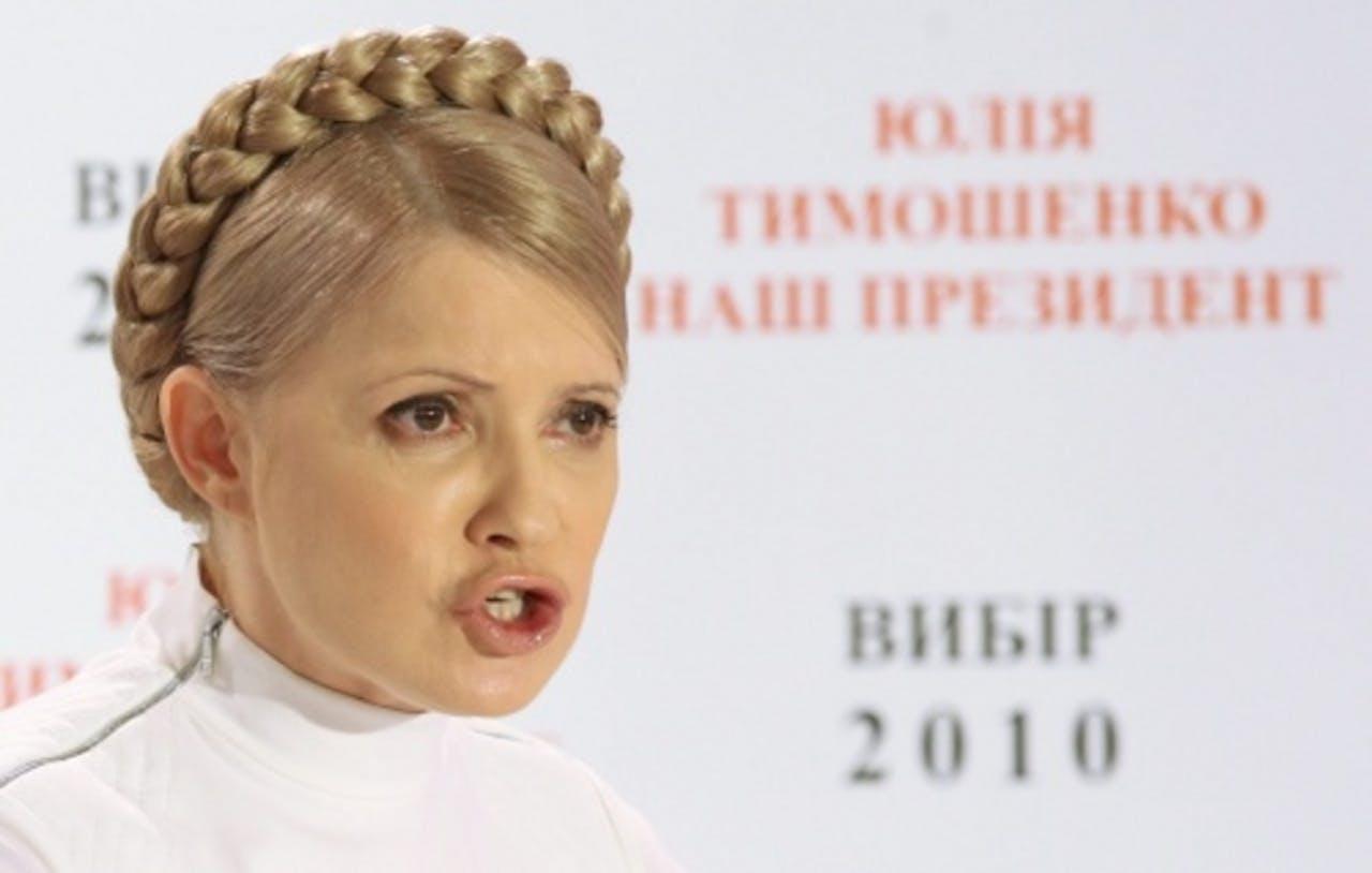 Joelia Timosjenko (archiefbeeld 2010). EPA