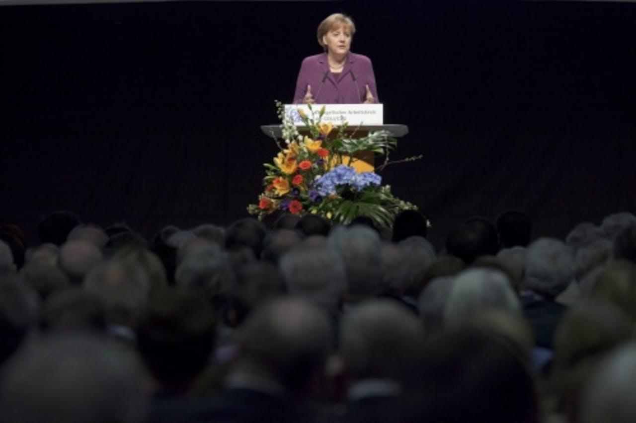 Angela Merkel. EPA