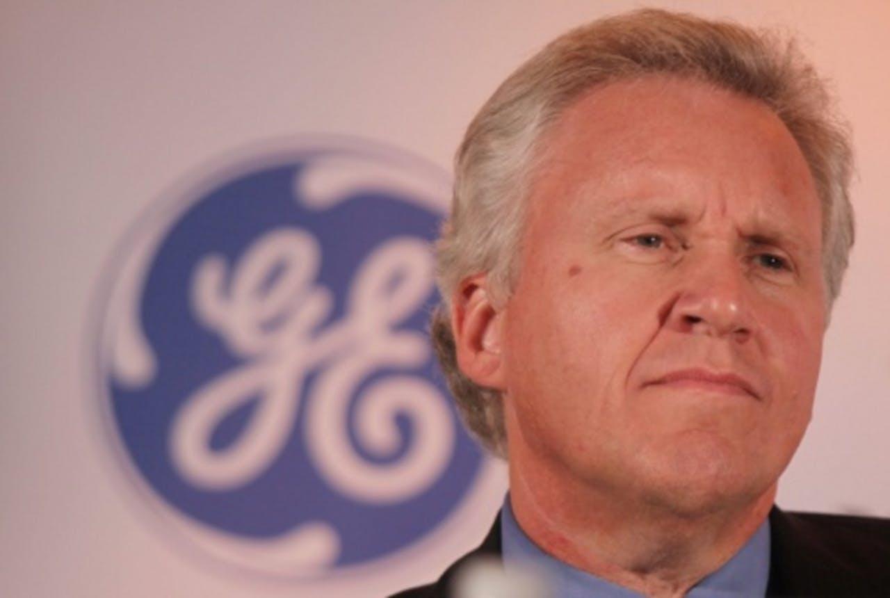 Bestuursvoorzitter Jeff Immelt. EPA