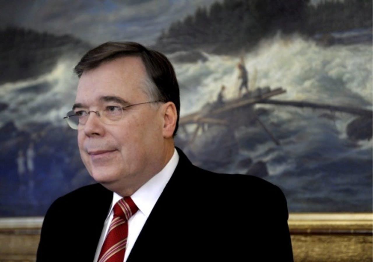 Geir Haarde. EPA