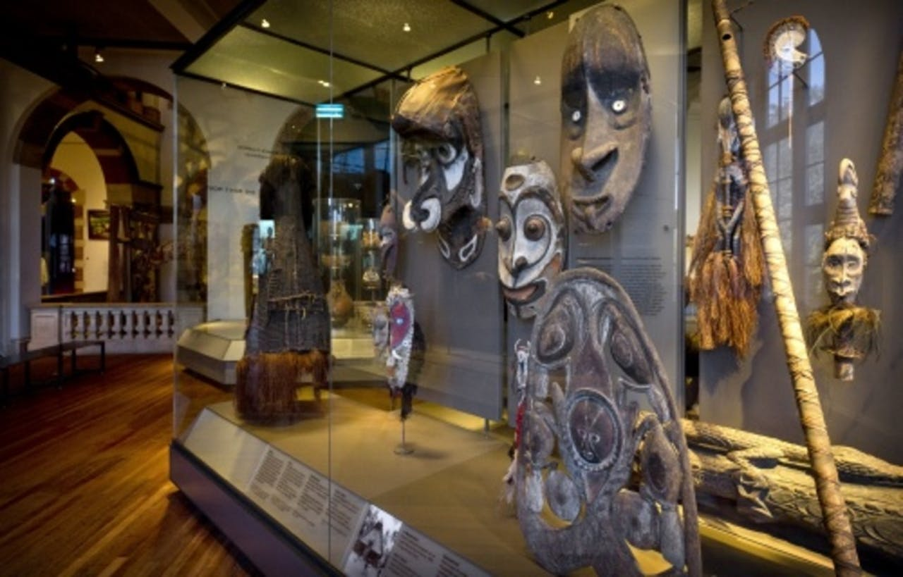 Interieur van het Tropenmuseum donderdag in Amsterdam. ANP