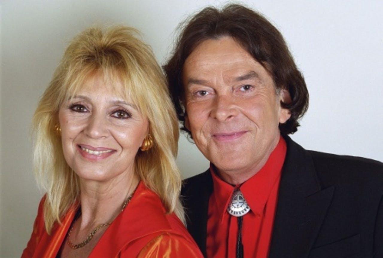 Cindy & Bert in 2001. ANP Kippa