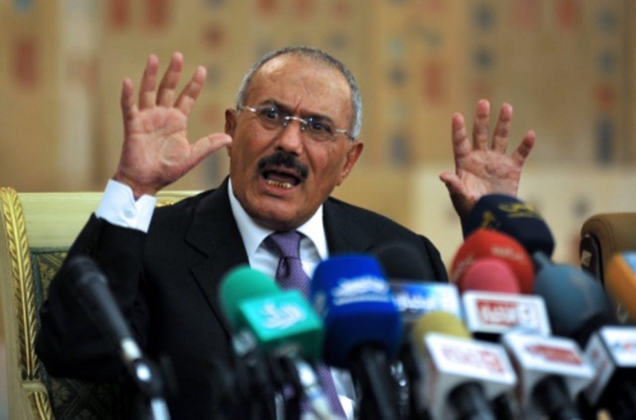 President Ali Abdullah Saleh van Jemen. EPA