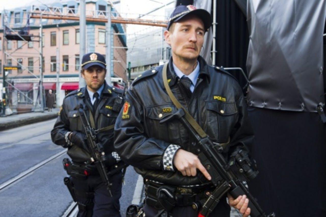 Noorse politieagenten (archieffoto). EPA