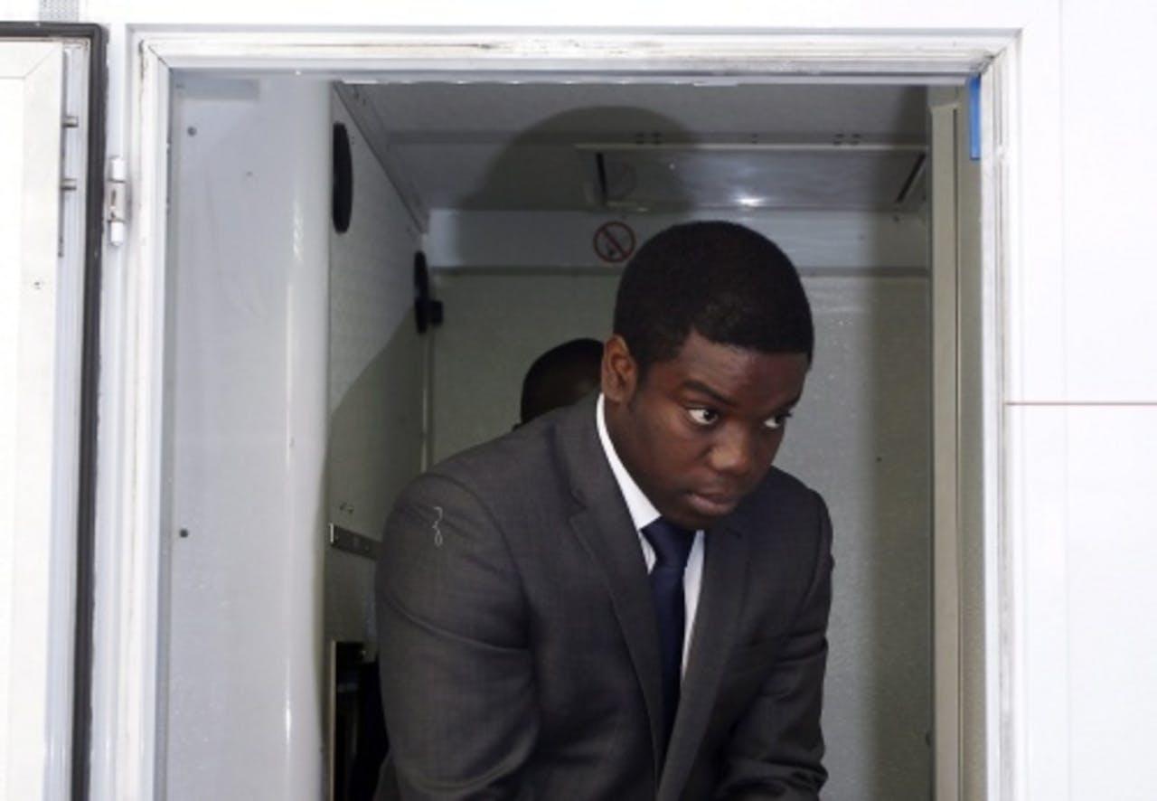 Kweku Adoboli op archieffoto. EPA