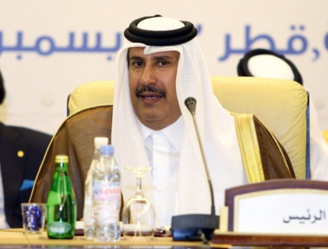 Sjeik Hamad bin Jassim al-Thani. EPA