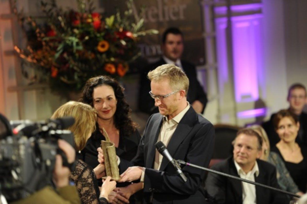 De AKO Literatuurprijs werd in 2010 uitgereikt in het Teylers Museum. ANP Kippa