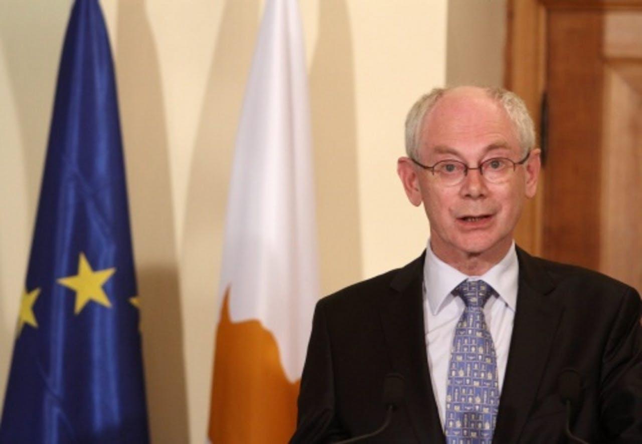Herman Van Rompuy. EPA