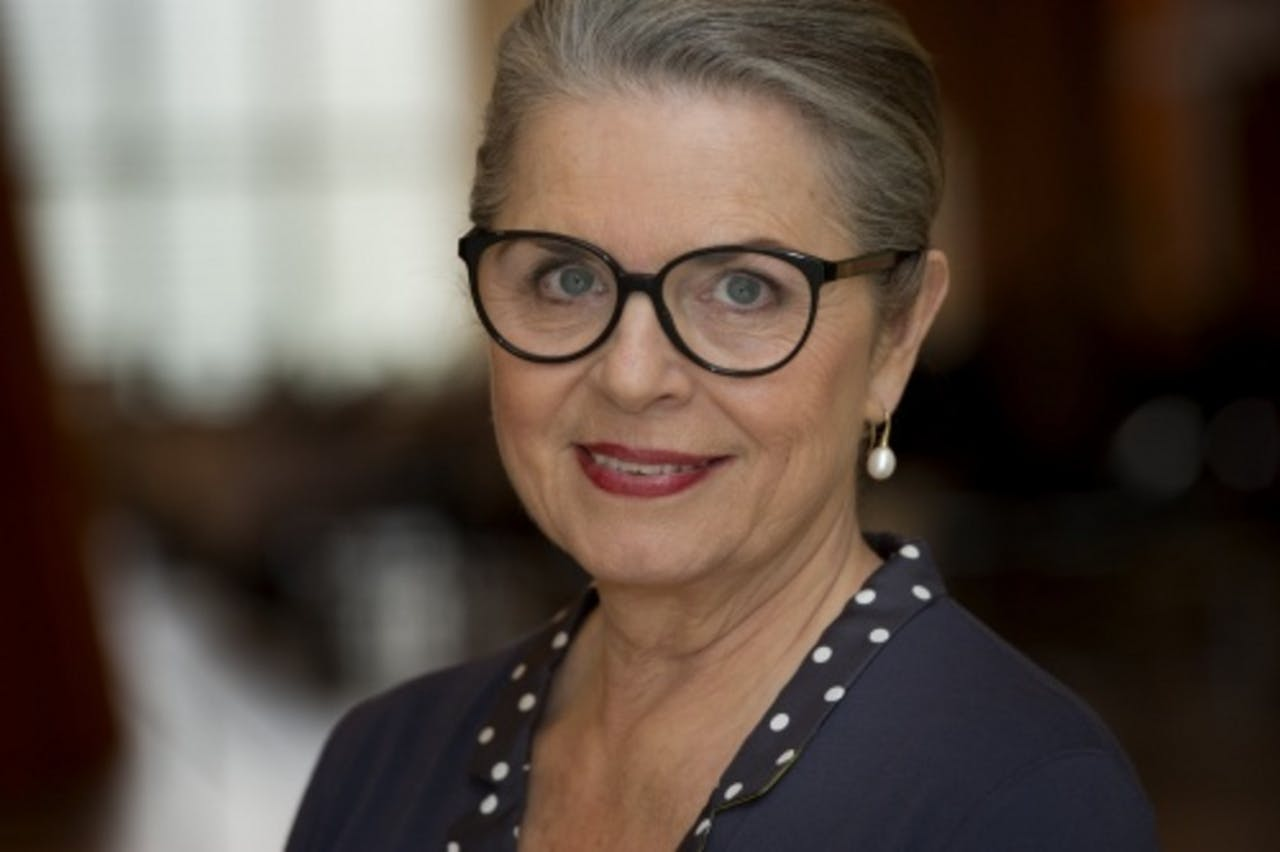 Presentatrice Nelleke van der Krogt. ANP Kippa