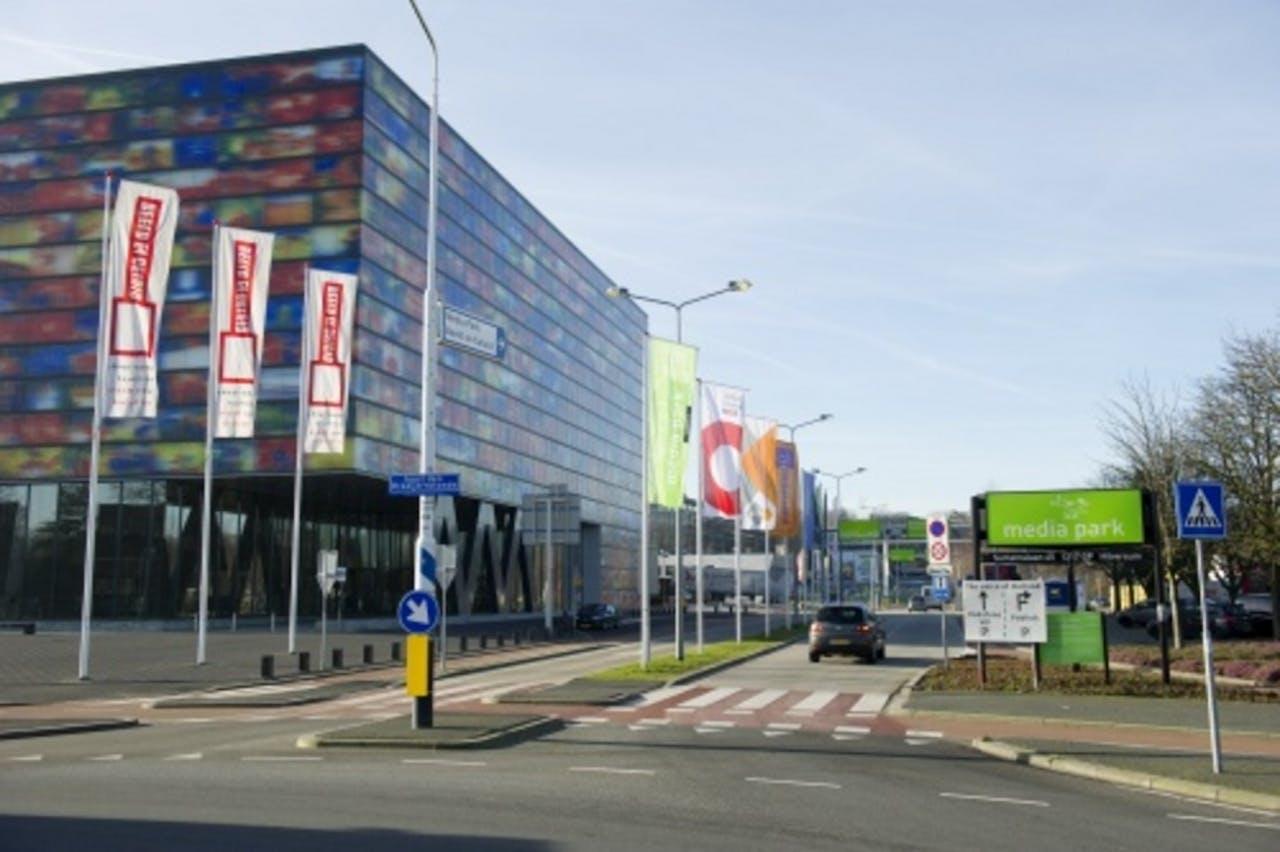 Beeld en Geluid in Hilversum. ANP Kippa