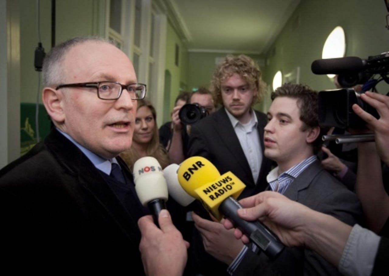 PvdA-Tweede Kamerlid Frans Timmermans. ANP