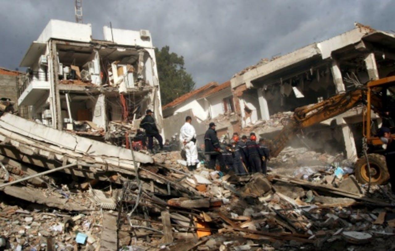 Volgens de rechtbank zat Droukdel achter een reeks terreuraanslagen in 2007. EPA