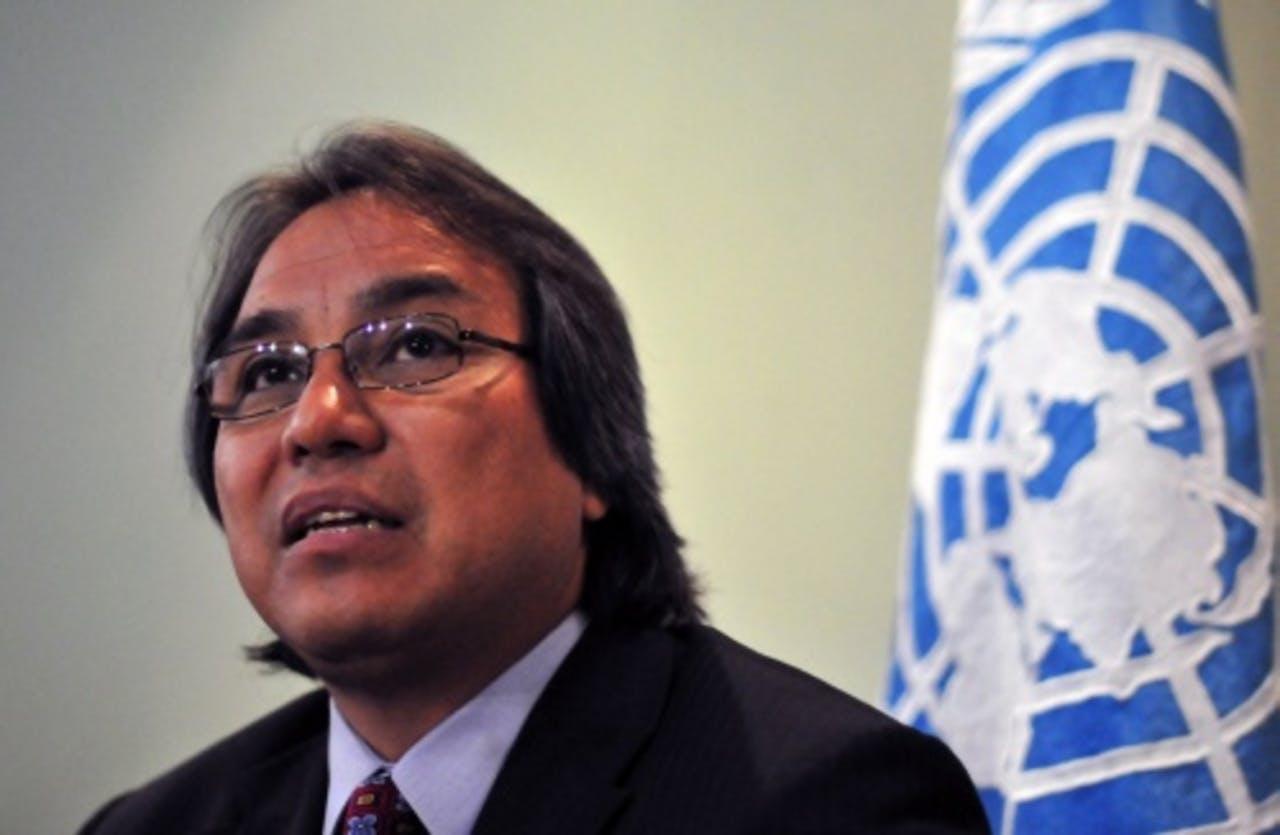 James Anaya. EPA