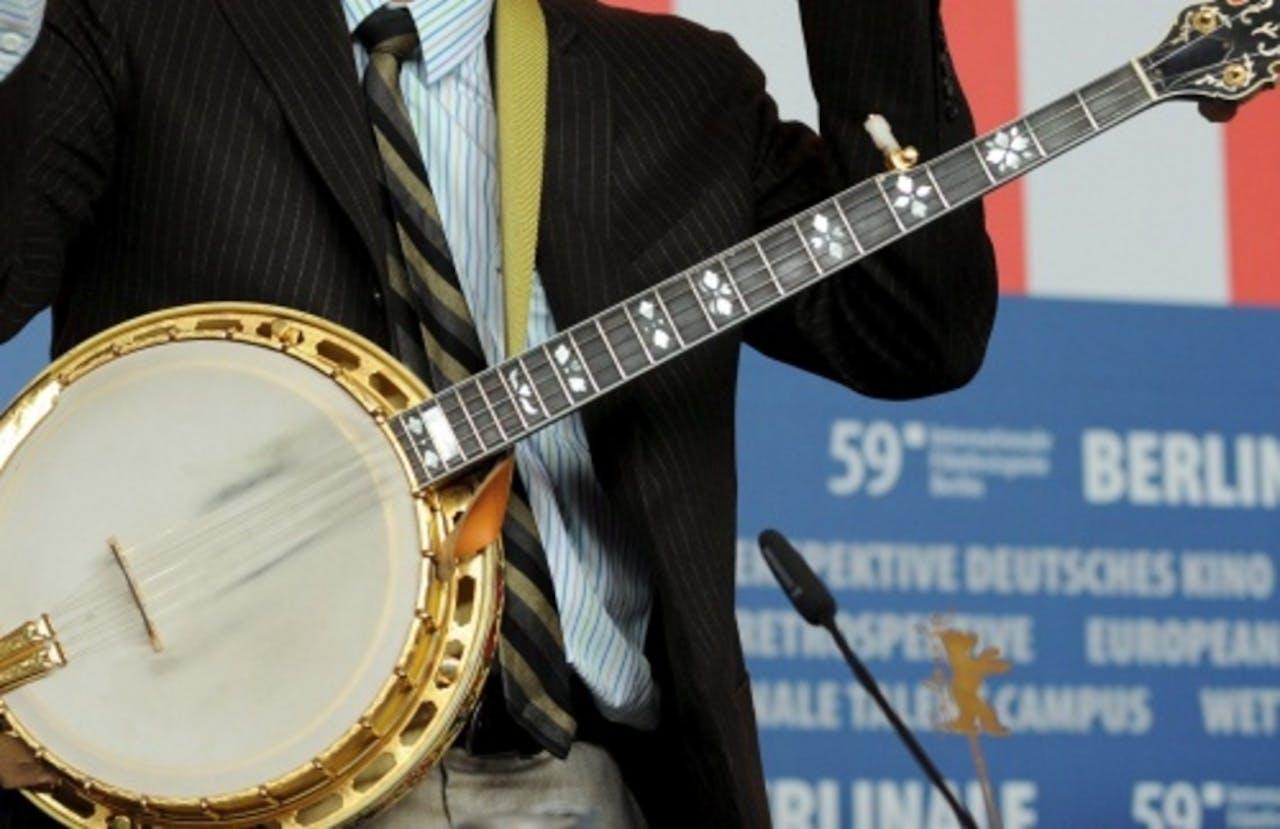 Archiefbeeld van een banjo. EPA