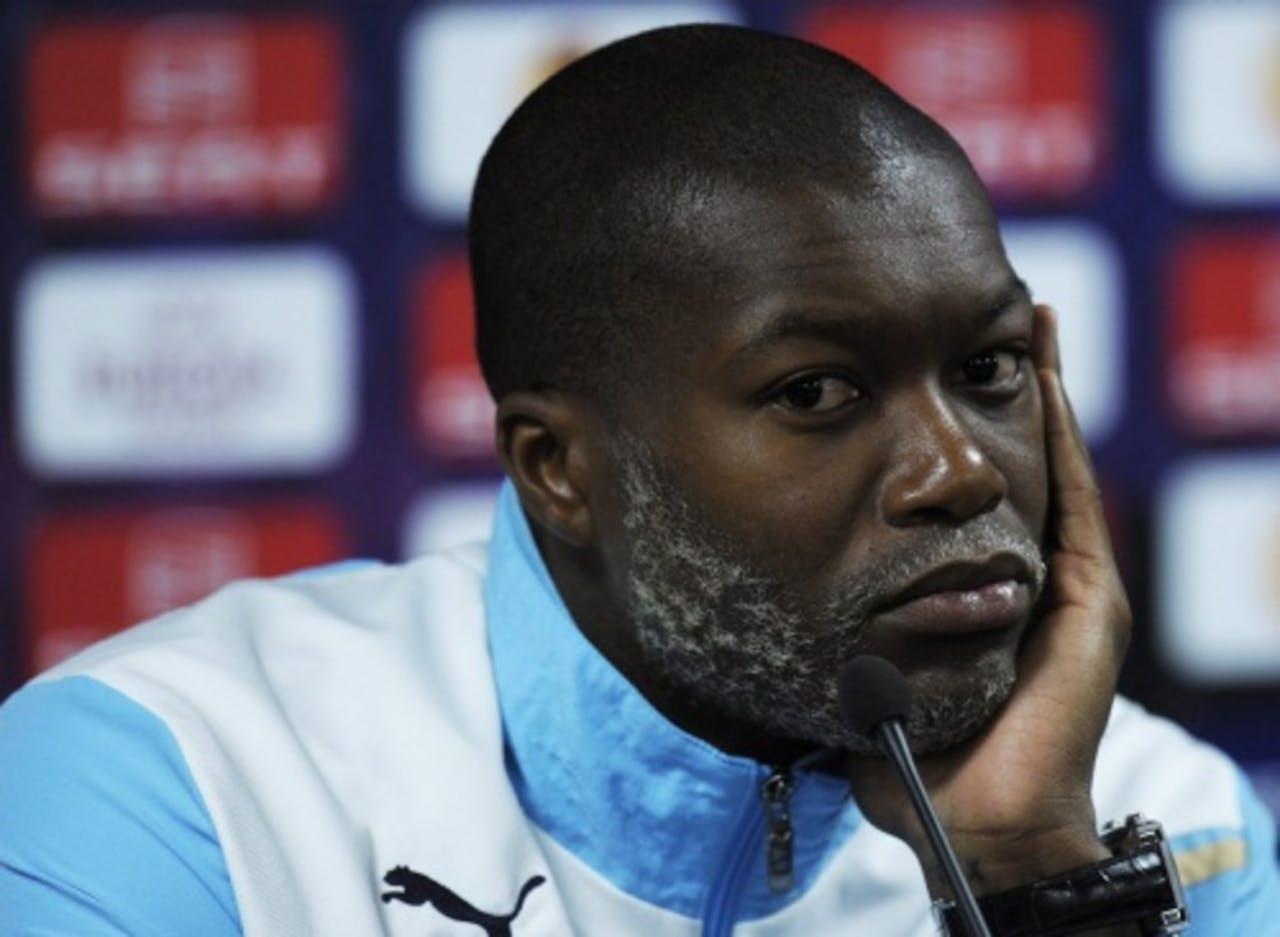 De Franse aanvaller Djibril Cissé verhuist van Lazio Roma naar Queens Park Rangers. EPA