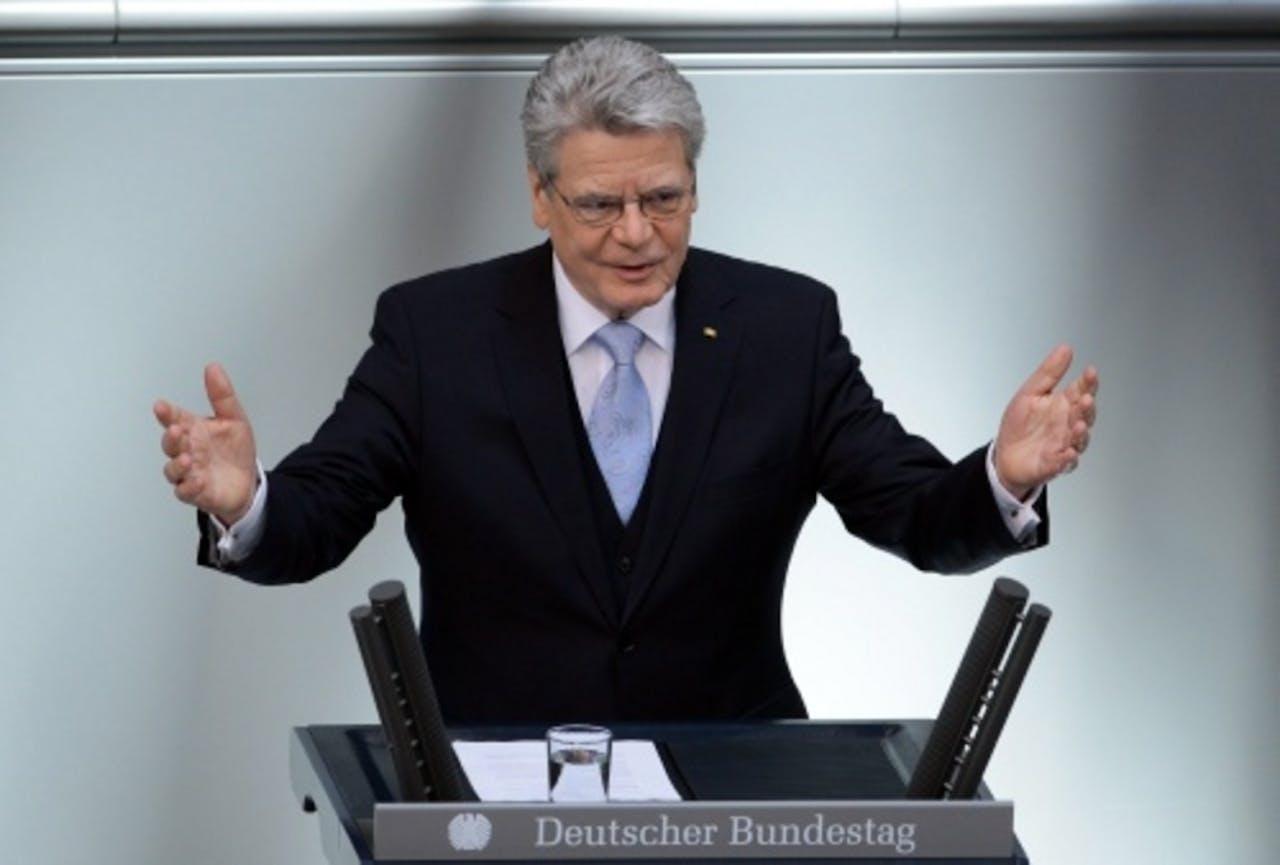 Joachim Gauck. EPA