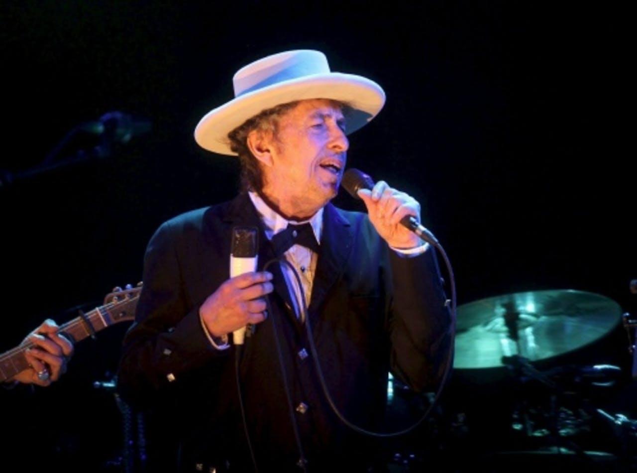 Zanger Bob Dylan. EPA