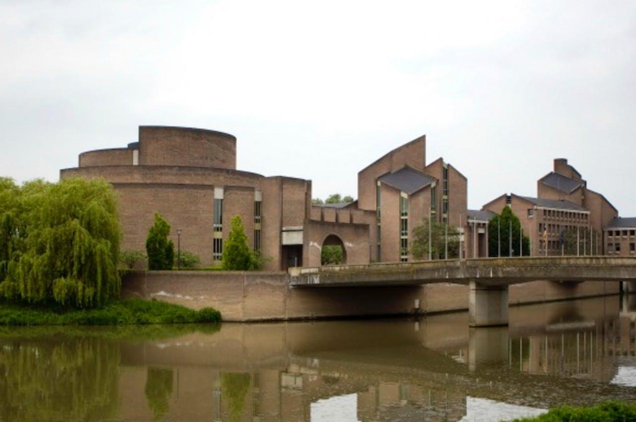 Het provinciehuis van Limburg in Maastricht.