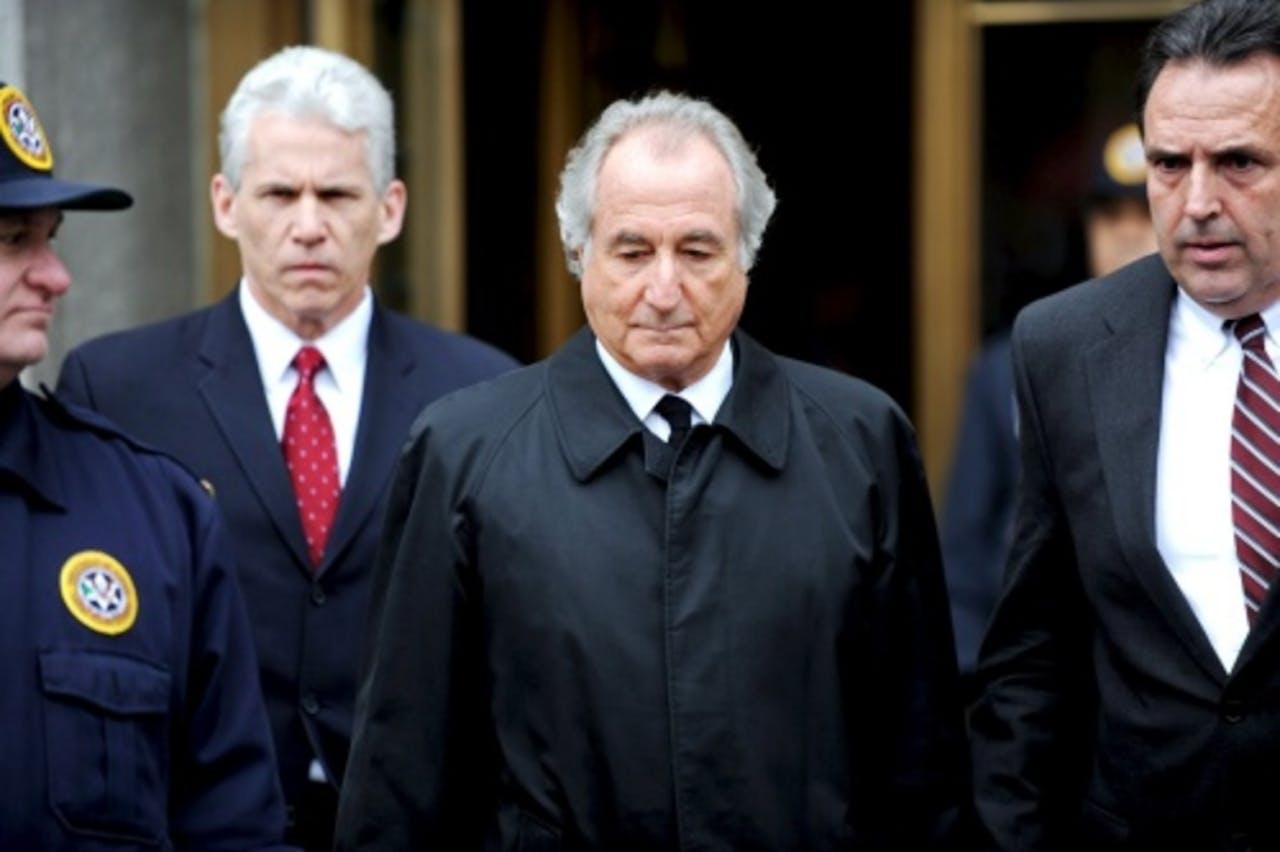 Bernard Madoff (M) (archieffoto, maart 2009). EPA
