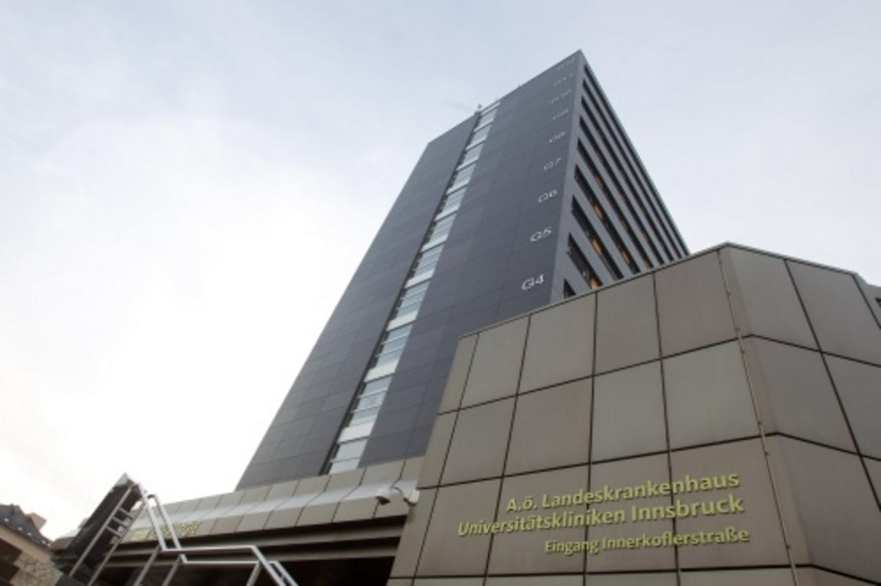 Het ziekenhuis waar prins Johan Friso ligt. ANP