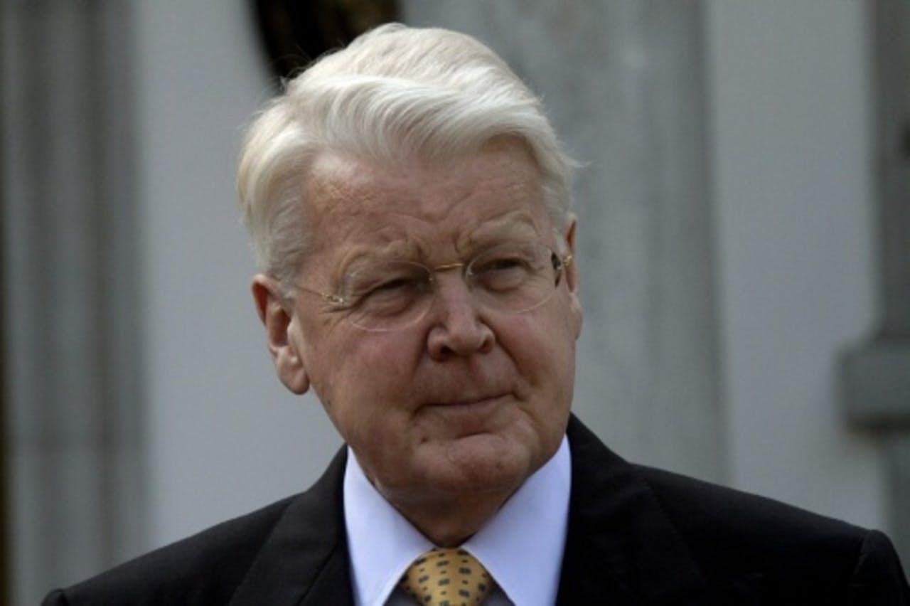 De IJslandse president Ólafur Ragnar Grímsson (EPA)
