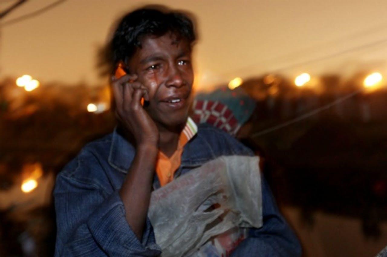 Mobieltje als het meest democratische instrument in India