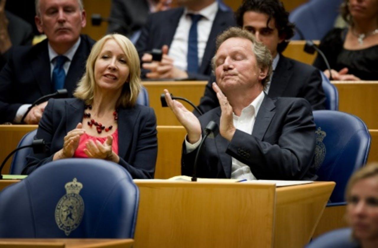 Liesbeth van Tongeren (L). ANP