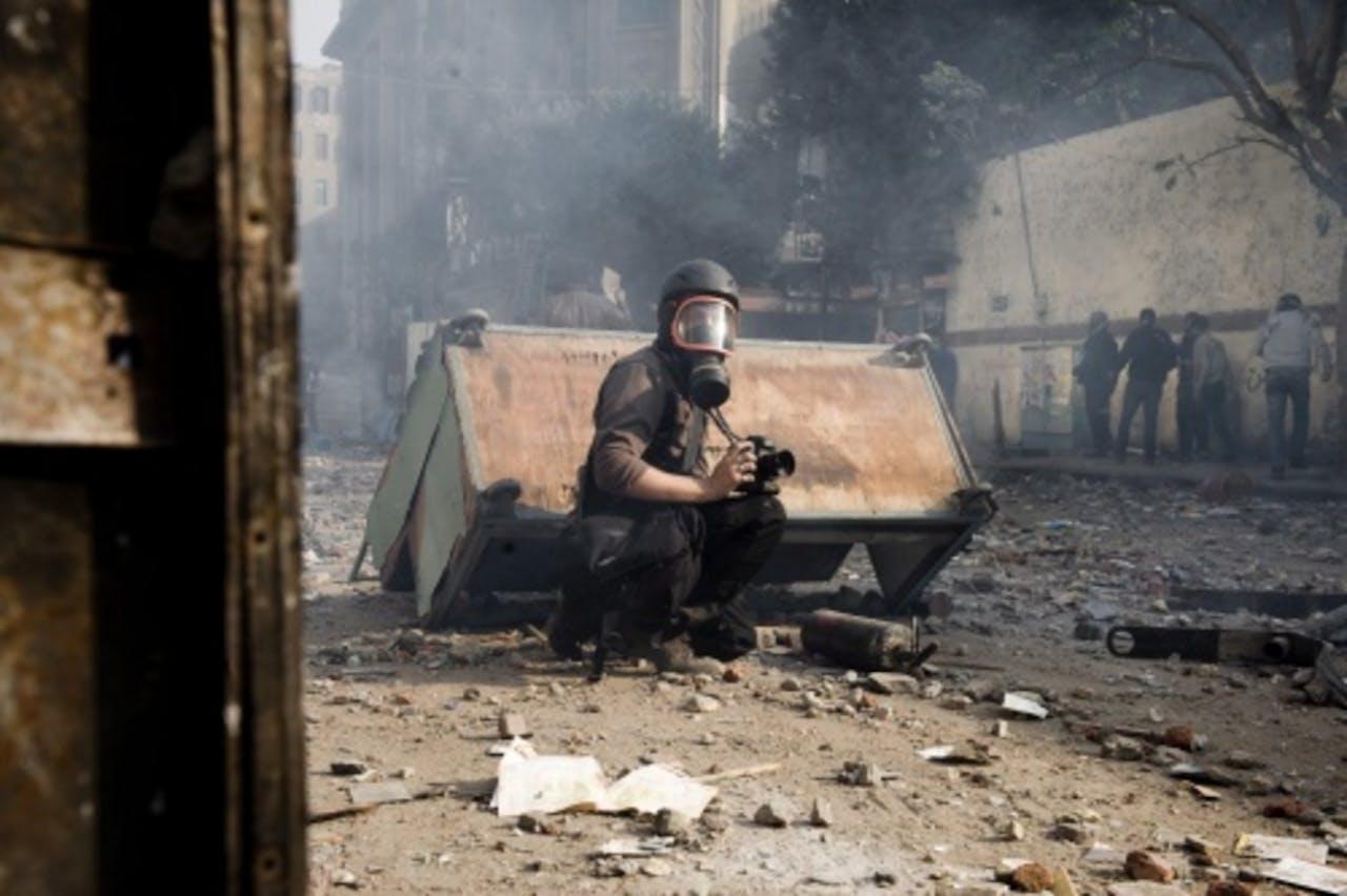 De Franse fotograaf Remi Ochlik (archieffoto, juni 2009). EPA