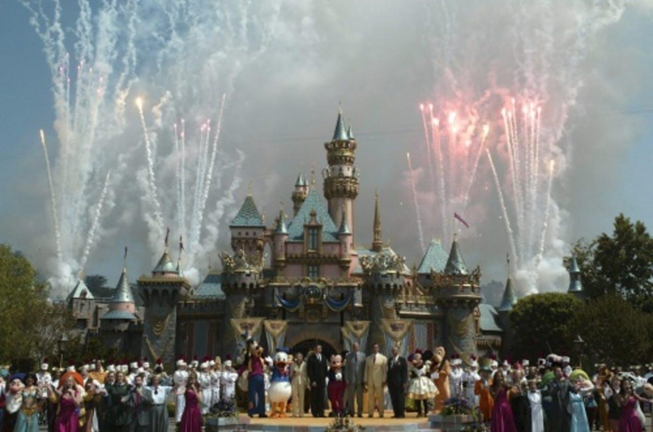 Archiefbeeld van Disneyland Californië. EPA